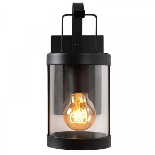 Lucide LINDELO - Wall lamp Outdoor - 1xE27 - IP23 - Black - 29825/01/30