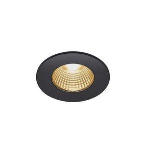 Patta I Round LED Recessed Spotlight Black