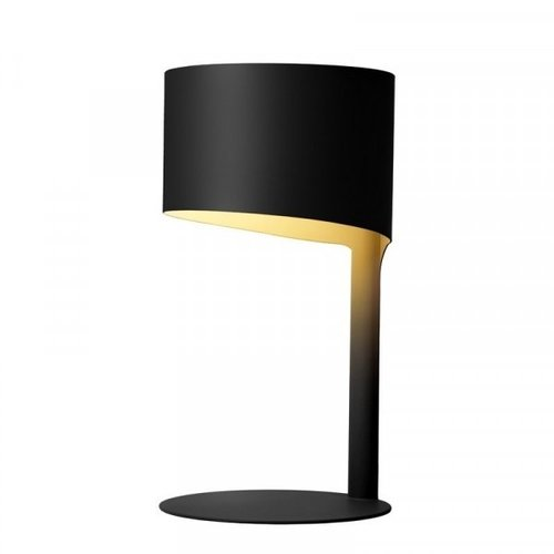 Lucide KNULLE - Table lamp - Ø 15 cm - 1xE14 - Black - 45504/01/30