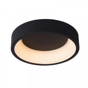 Lucide TALOWE LED - Plafonnière - Ø 30 cm - LED Dimb. - 1x20W 3000K - Zwart - 46100/20/30