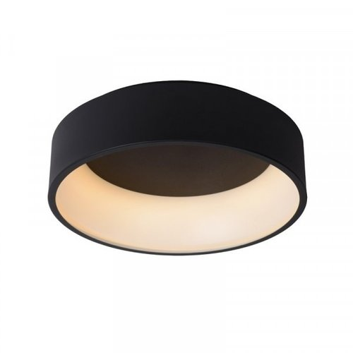Lucide TALOWE LED - Flush ceiling light - Ø 45 cm - LED Dim. - 1x30W 3000K - Black - 46100/32/30