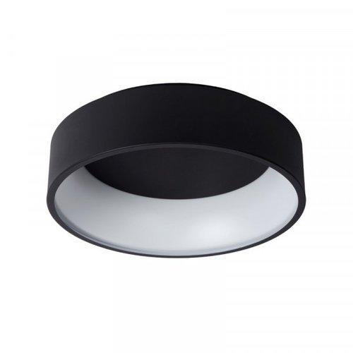 Lucide TALOWE LED - Plafonnier affleurant - Ø 45 cm - LED Dim. - 1x30W 3000K - Noir - 46100/32/30