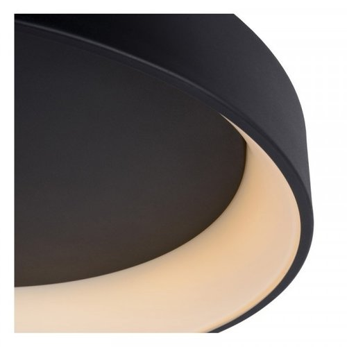 Lucide TALOWE LED - Flush ceiling light - Ø 60 cm - LED Dim. - 1x42W 3000K - Black - 46100/42/30