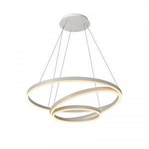 Lucide TRINITI - Hanging lamp - Ø 80 cm - LED Dim. - 3000K - White - 46402/99/31