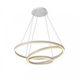 Lucide TRINITI - Hanglamp - Ø 80 cm - LED Dimb. - 3000K - Wit - 46402/99/31