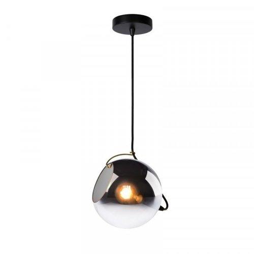 Lucide JAZZLYNN - Pendant lamp - Ø 20 cm - 1xE27 - Fumé - 25405/20/65