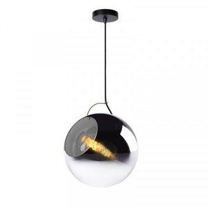 Lucide JAZZLYNN - Pendant lamp - Ø 30 cm - 1xE27 - Fumé - 25405/30/65