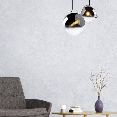 Lucide JAZZLYNN - Hanglamp - Ø 30 cm - 1xE27 - Fumé - 25405/30/65