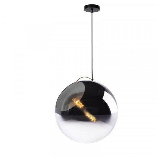 Lucide JAZZLYNN - Pendant lamp - Ø 40 cm - 1xE27 - Fumé - 25405/40/65