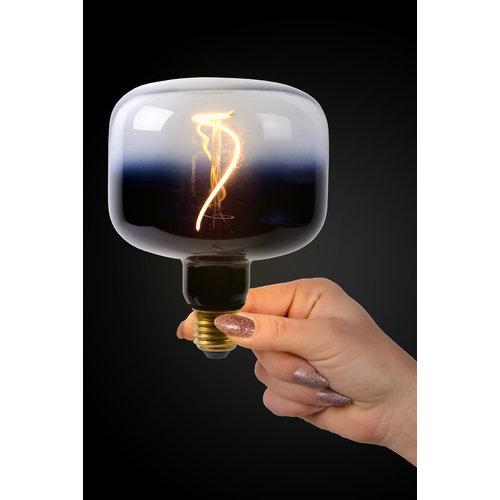 Lucide FILAMENT BULB - Lampe à incandescence - Ø 11,8 cm - LED Dim. - E27 - 1x4W 2200K - Noir