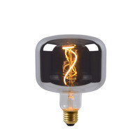 FILAMENT BULB - Lampe à incandescence - Ø 11,8 cm - LED Dim. - E27 - 1x4W 2200K - Fumé
