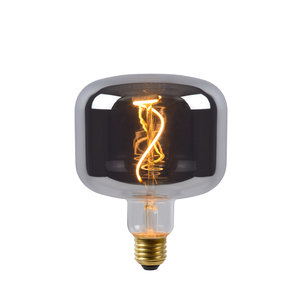 Lucide FILAMENT BULB - Filament lamp - Ø 11,8 cm - LED Dimb. - E27 - 1x4W 2200K - Fumé