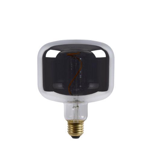 Lucide FILAMENT BULB - Filament lamp - Ø 11.8 cm - LED Dim. - E27 - 1x4W 2200K - Fumé