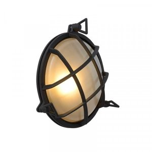 Lucide DUDLEY - Wall lamp Outdoor - Ø 25 cm - 1xE27 - IP65 - Black - 11890/25/30