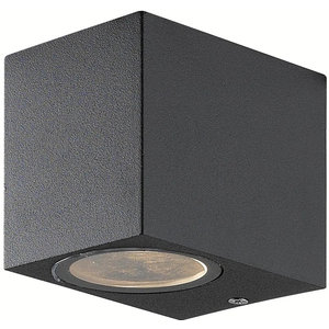 Absinthe Cube Wall down Anthracite IP54