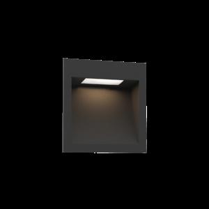 Wever & Ducré ORIS WALL 1.3 LED inbouwarmatuur zwart