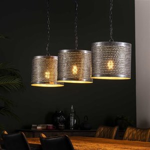 LioLights Hanging lamp 3xØ30 round punch