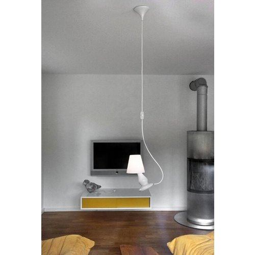 NEXT Hanging lamp Flap flap white