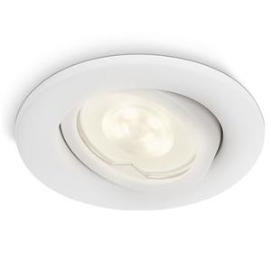 Philips Spot encastrable LED extérieur MyGarden Fresco Blanc