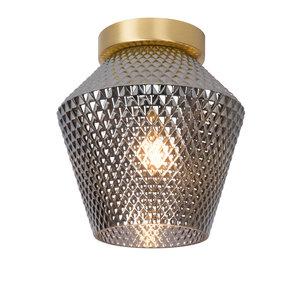 Lucide ROSALIND - Ceiling lamp - Ø 21 cm - 1xE27 - Fumé - 03134/01/65