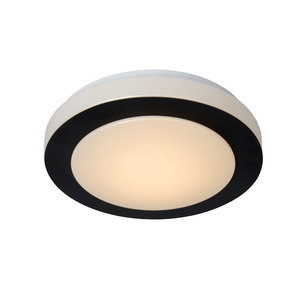 Lucide DIMY - Ceiling light Bathroom - Ø 28.6 cm - LED Dim. - 1x12W 3000K - IP21