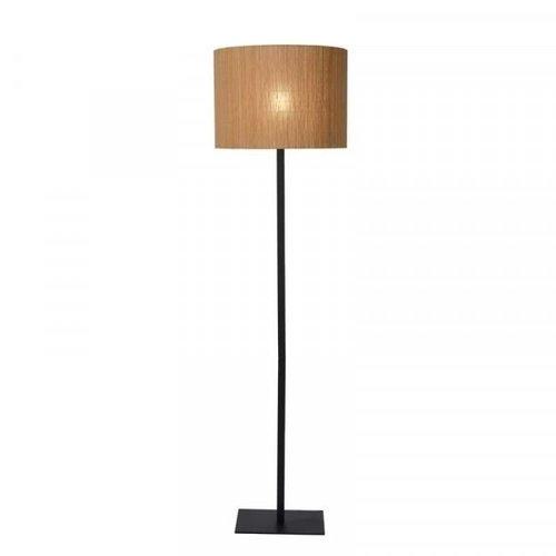 Lucide MAGIUS - Vloerlamp - Ø 42 cm - 1xE27 - Licht hout - 03729/81/30