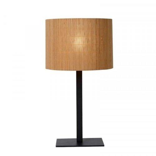 Lucide MAGIUS - Tafellamp - Ø 28 cm - 1xE27 - Licht hout - 03529/81/30