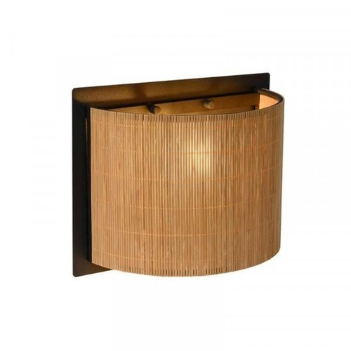 Lucide MAGIUS - Wall lamp - 1xE27 - Light wood - 03229/01/30