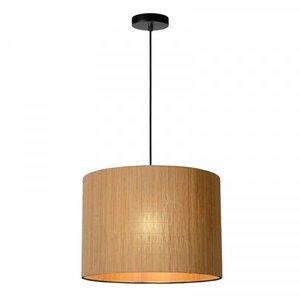 Lucide MAGIUS - Hanging lamp - Ø 42 cm - 1xE27 - Light wood - 03429/42/30