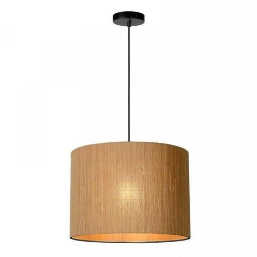 Lucide MAGIUS - Hanglamp - Ø 42 cm - 1xE27 - Licht hout - 03429/42/30