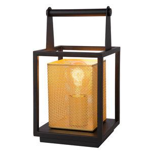 Lucide SANSA - Table lamp - 1xE27 - Black - 21522/01/30