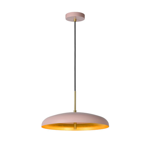 Lucide ELGIN - Hanglamp - Ø 38 cm - 3xG9 - Roze - 03431/38/66