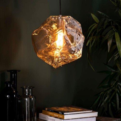LioLights Hanglamp 1L rock chromed