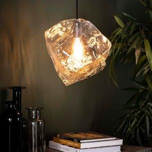 LioLights Hanglamp 1L rock clear
