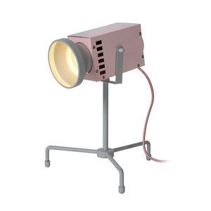 Lucide BEAMER - Tafellamp Kinderkamer - LED - 1x3W 3000K - Roze - 05534/03/66