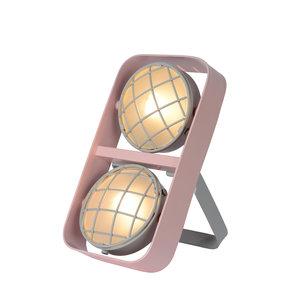 Lucide RENGER - Tafellamp Kinderkamer - 2xG9 - Roze - 05533/02/66