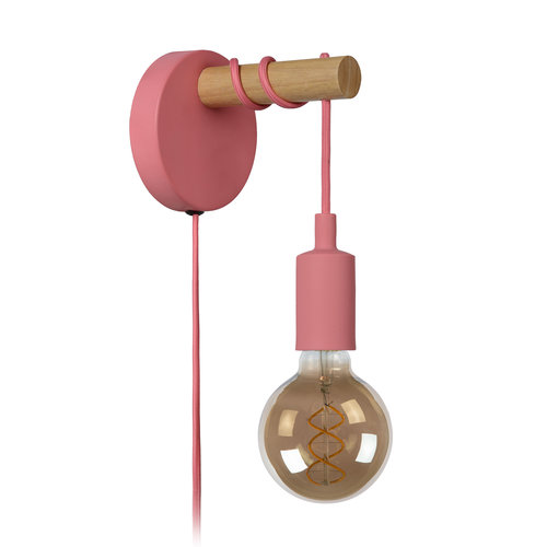 Lucide PAULIEN - Wall lamp - Ø 12 cm - 1xE27
