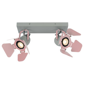 Lucide PICTO - Ceiling spotlight Children's room - 2xGU10