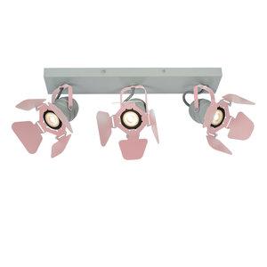 Lucide PICTO - Ceiling spotlight Children's room - 3xGU10