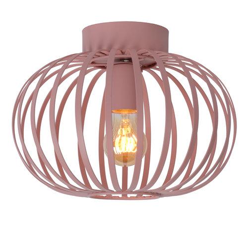 Lucide MERLINA - Ceiling light Children's room - Ø 30 cm - 1xE27 - Pink - 78193/30/66