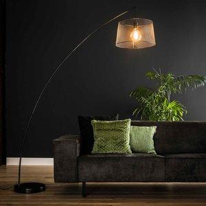 LioLights Floor lamp 1x Ø45 arc gauze