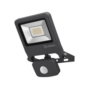 OSRAM Endura LED spotlight 20-150W black + sensor