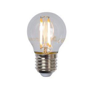 Lucide LED BULB - Filament lamp - Ø 4.5 cm - LED Dim. - E27 - 1x4W 2700K - Transparent