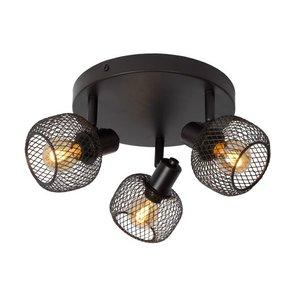 Lucide MAREN - Ceiling spotlight - 3xE14 - Black