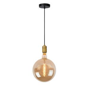 JOVA - Hanglamp - Ø 4,6 cm - 1xE27 - Mat Goud / Messing - 08426/01/02