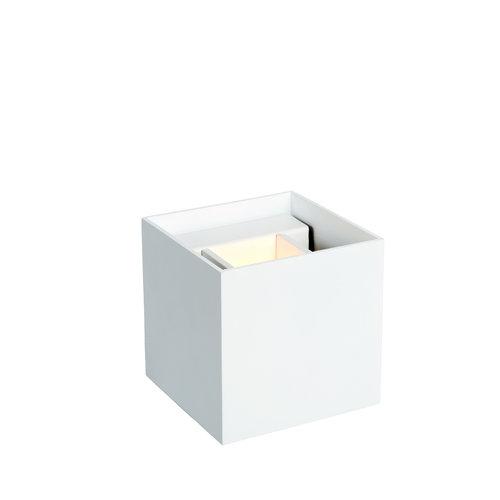 Lucide AXI - Wall spotlight Bathroom - LED - IP54 - White - 69200/06/31