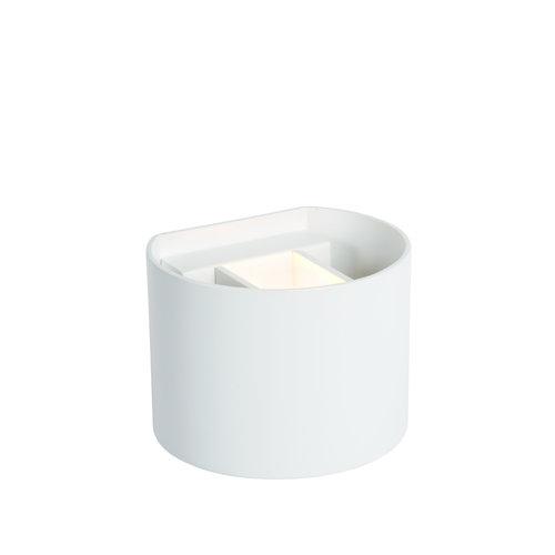 Lucide AXI - Wall spotlight Bathroom - LED - IP54 - White - 69201/06/31