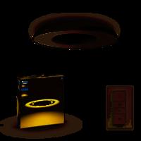 Hue plafondlamp Still LED Zwart 3261330P6
