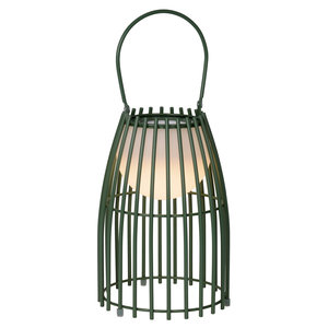 Lucide FJARA - Table lamp Outdoor - Ø 17,5 cm - LED Dim. - 1x0,3W 3200K - IP44 - Green - 06801/01/33