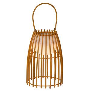 Lucide FJARA - Table lamp Outdoor - Ø 17.5 cm - LED Dim. - 1x0.3W 3200K - IP44 - Brown - 06801/01/43